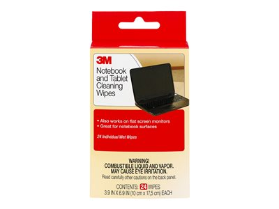 3M Notebook Screen Cleaning Wipes CL630 Cleaning wipes