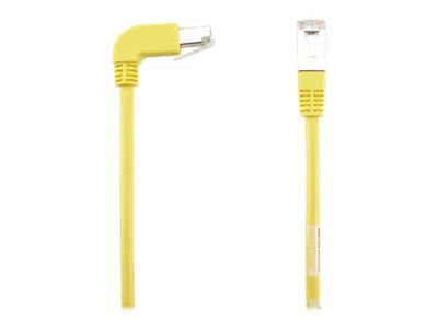 Black Box SpaceGAIN Down to Straight - patch cable - 1.8 m - yellow