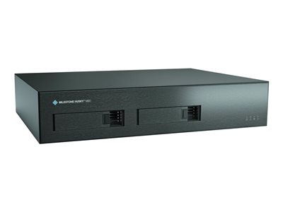 Milestone Husky M20 NVR 16 channels 1 x 2 TB networked 2U rack-mountable