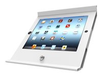 Compulocks iPad Secure Slide POS Wall Mount / Kiosk White