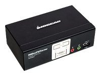 IOGEAR MiniView GCS1802 - KVM / audio / USB switch - 2 ports