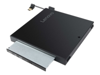 Lenovo Tiny IV DVD Burner Kit - Disk drive - DVD-Writer - USB - external - for ThinkCentre M710q (tiny desktop); M910q (tiny desktop)