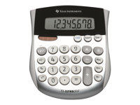 Texas Instruments TI-1795 SV Desktop calculator 8 digits solar panel, ba