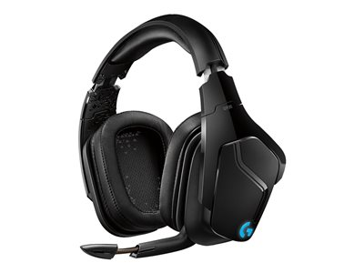 Logitech Gaming Headset G935 Trådløs Blå Sort Headset