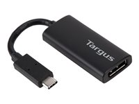 Targus External video adapter USB Type-C DisplayPort black