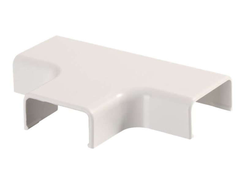 C2G Wiremold Uniduct 2800 Tee - Fog White - cable raceway tee