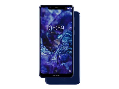 Nokia 5.1 Plus 5.8' 32GB 4G Blå