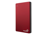Seagate Backup Plus STDR1000203 - Hard drive - 1 TB - external (portable) - USB 3.0 - red