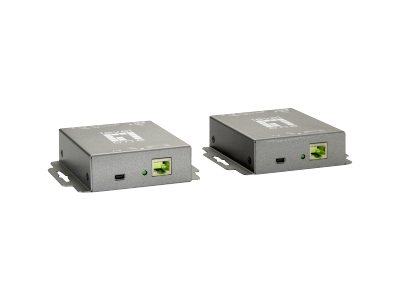 LevelOne HVE-9005 HDMI over Cat.5 Extender kit - Video-/Audio-/Infrarot-Übertrager - HDMI