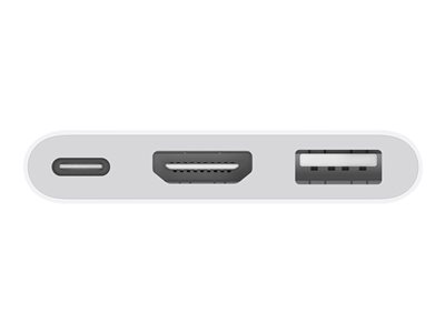 Apple Videointerfaceomformer HDMI / USB Hvid
