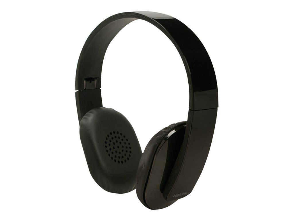 LogiLink - Headset - On-Ear - drahtlos - Bluetooth