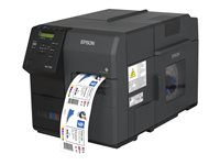 Epson ColorWorks TM-C7500 - Label printer - colour - ink-jet - 112 mm (width) - 600 x 1200 dpi - up to 300 mm/sec - USB 2.0, Gigabit LAN