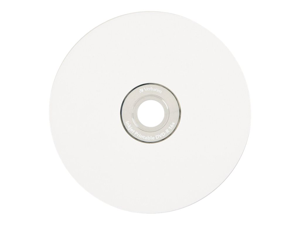 Verbatim Printable - DVD-R x 10 - 4.7 GB - storage media