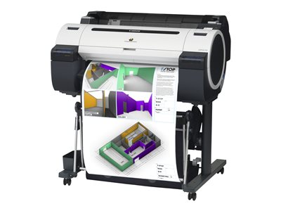 """Canon imagePROGRAF iPF670 - Without stand - 24"""" large-format printer - color - ink-jet - Roll A1 (24 in) - USB 2.0, Gigabit LAN"""