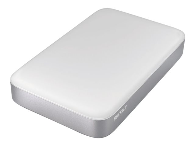 Image of BUFFALO MiniStation Thunderbolt - hard drive - 1 TB - USB 3.0 / Thunderbolt