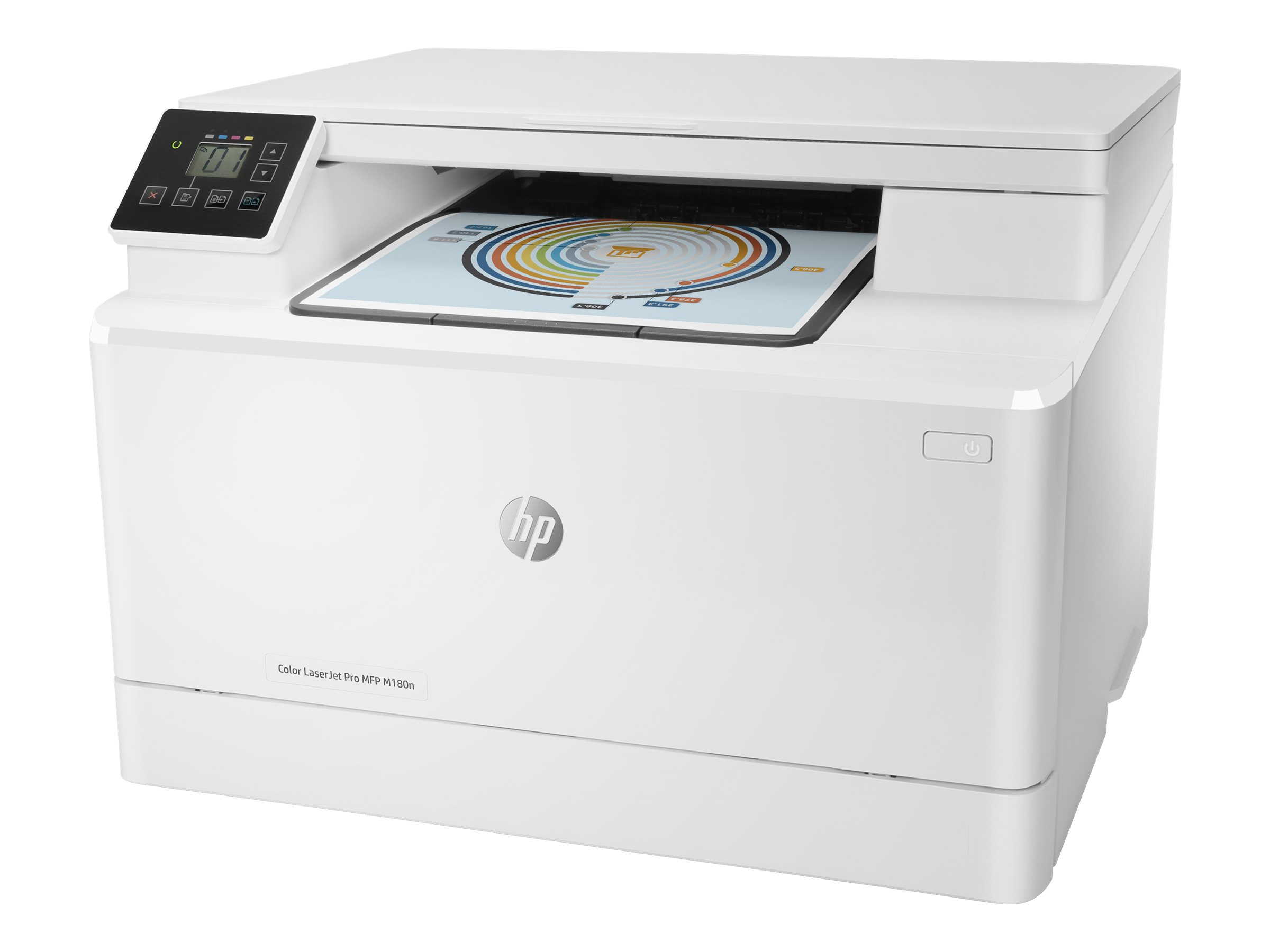 hp color laserjet pro mfp m180n imprimante multifonctions couleur laser imprimantes. Black Bedroom Furniture Sets. Home Design Ideas