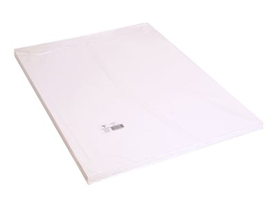 Papiers mousse Clairefontaine - Carton mousse - 50 x 65 cm - blanc - 5 mm