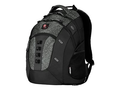Wenger Granite Notebook carrying backpack 16INCH black, geo print