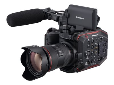 Panasonic AU-EVA1 Camcorder 4K / 60 fps 20.49 MP body only flash card