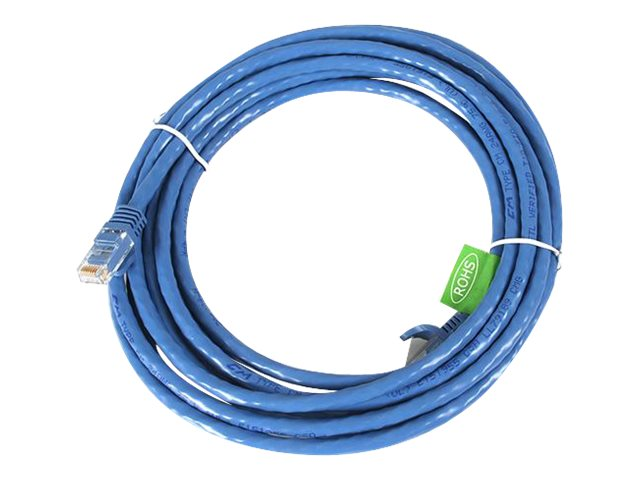 StarTech.com 15 ft Blue Cat6 / Cat 6 Snagless Patch Cable 15ft