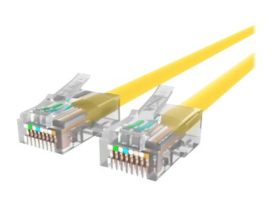 Belkin Patch cable RJ-45 (M) to RJ-45 (M) 3 ft UTP CAT 5e stranded yellow B2B