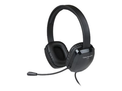 Cyber Acoustics AC 6012 Headset on-ear wired USB