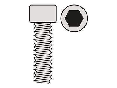 RC - Hex Socket Head Screw - M3X8