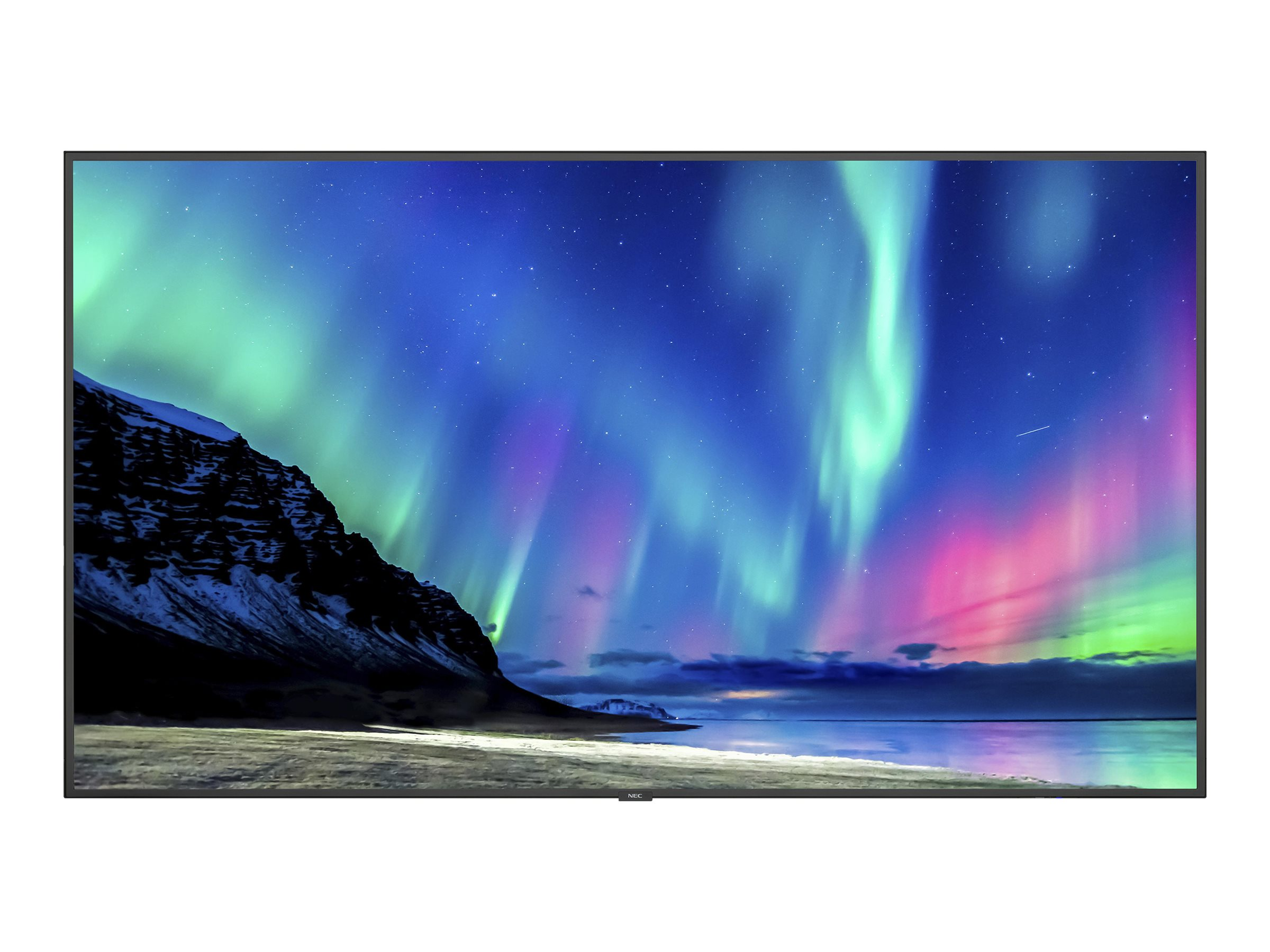 "NEC MultiSync C751Q 75"" LED display - 4K"