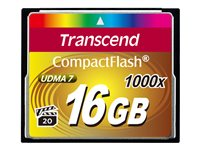 Transcend Ultimate Flash memory card 16 GB 1000x CompactFlash