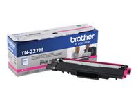Brother TN-227M - High Yield - magenta - original - toner cartridge - for Brother DCP-L3550, HL-L3210, L3230, L3270, L3290, MFC-L3710, L3730, L3750, L3770