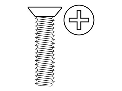RC - Flat Head Screw M3X16