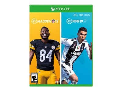 FIFA 19 Xbox One with MADDEN NFL 19