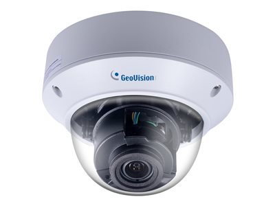 GeoVision GV-AVD8710 Network surveillance camera dome outdoor vandal / waterproof