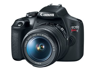 Canon EOS Rebel T7 Digital camera SLR 24.1 MP APS-C 1080p / 30 fps