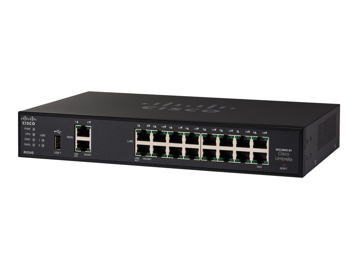 Cisco Small Business RV345 - router - rack-mountable