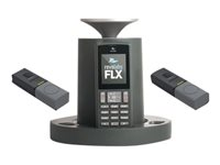 Revolabs FLX 2 VoIP conferencing system DECT 6.0 3-way call capability SIP,