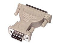 C2G Serial adapter DB-9 (M) to DB-25 (M) white