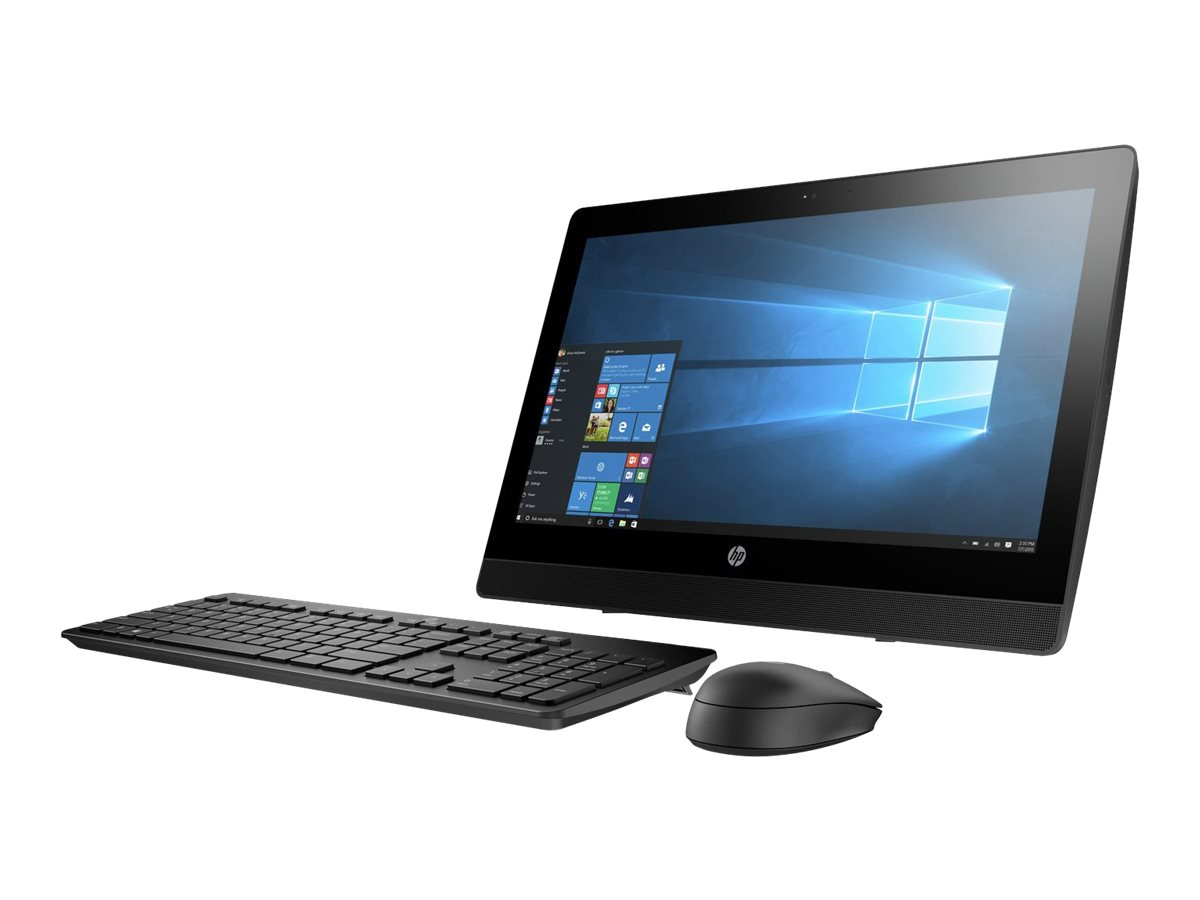 HP ProOne 400 G3 - All-in-One (Komplettlösung) - 1 x Core i5 7500T / 2.7 GHz - RAM 8 GB - HDD 1 TB - DVD-Writer