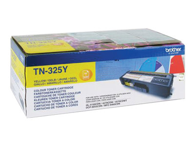 Brother Brother TN325 - jaune - toner d'origine - cartouche laser