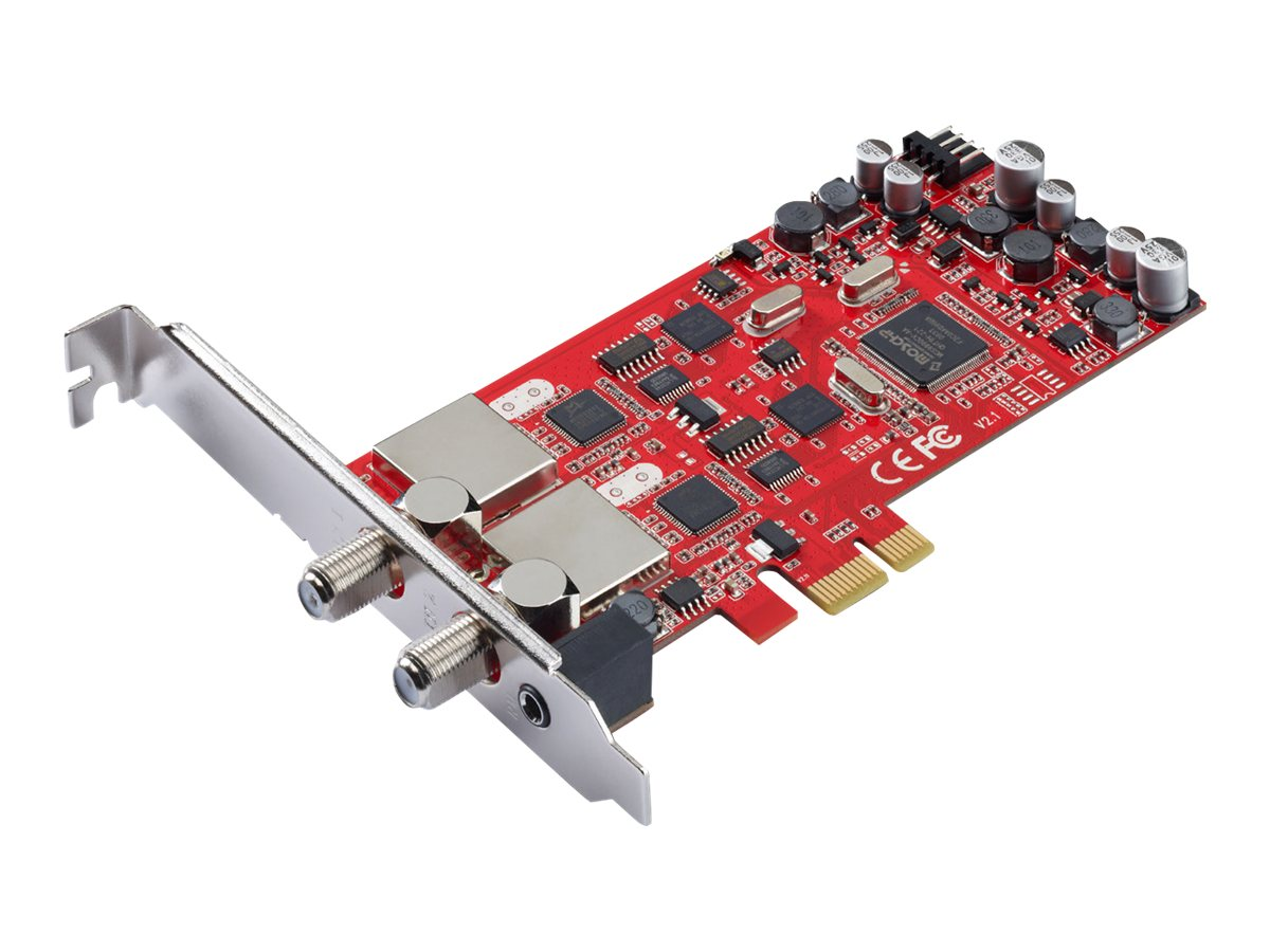 TERRATEC Cinergy S2 PCIe Dual - Digitaler TV-Empfänger - DVB-S2 - HDTV - PCIe