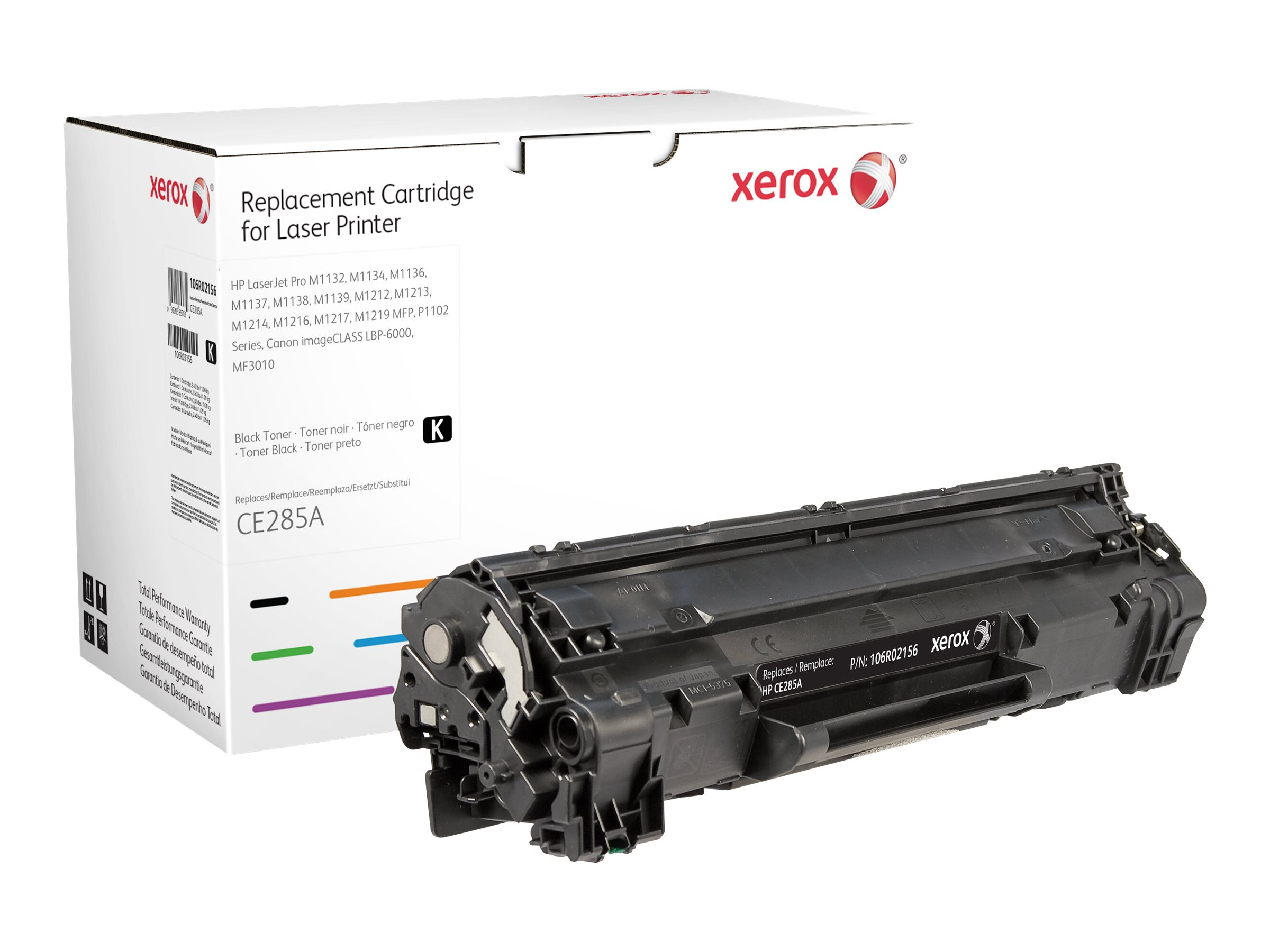 Xerox - black - original - toner cartridge (alternative for: HP 85A)