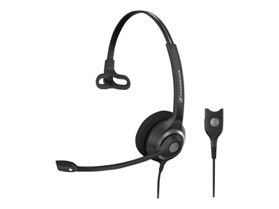 Sennheiser Circle SC 230 - Headset - on-ear - wired - active noise cancelling - Easy Disconnect - black with silver