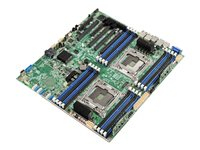 Intel Server Board S2600CW2R - Carte-mère - SSI EEB - Socket LGA2011-v3 - 2 CPU pris en charge - C612 - USB 3.0 - 2 x Gigabit LAN - carte graphique embarquée