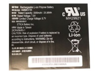Zebra - Tablet battery - 1 x lithium polymer 4950 mAh 38.1 Wh - for Zebra ET51, ET56