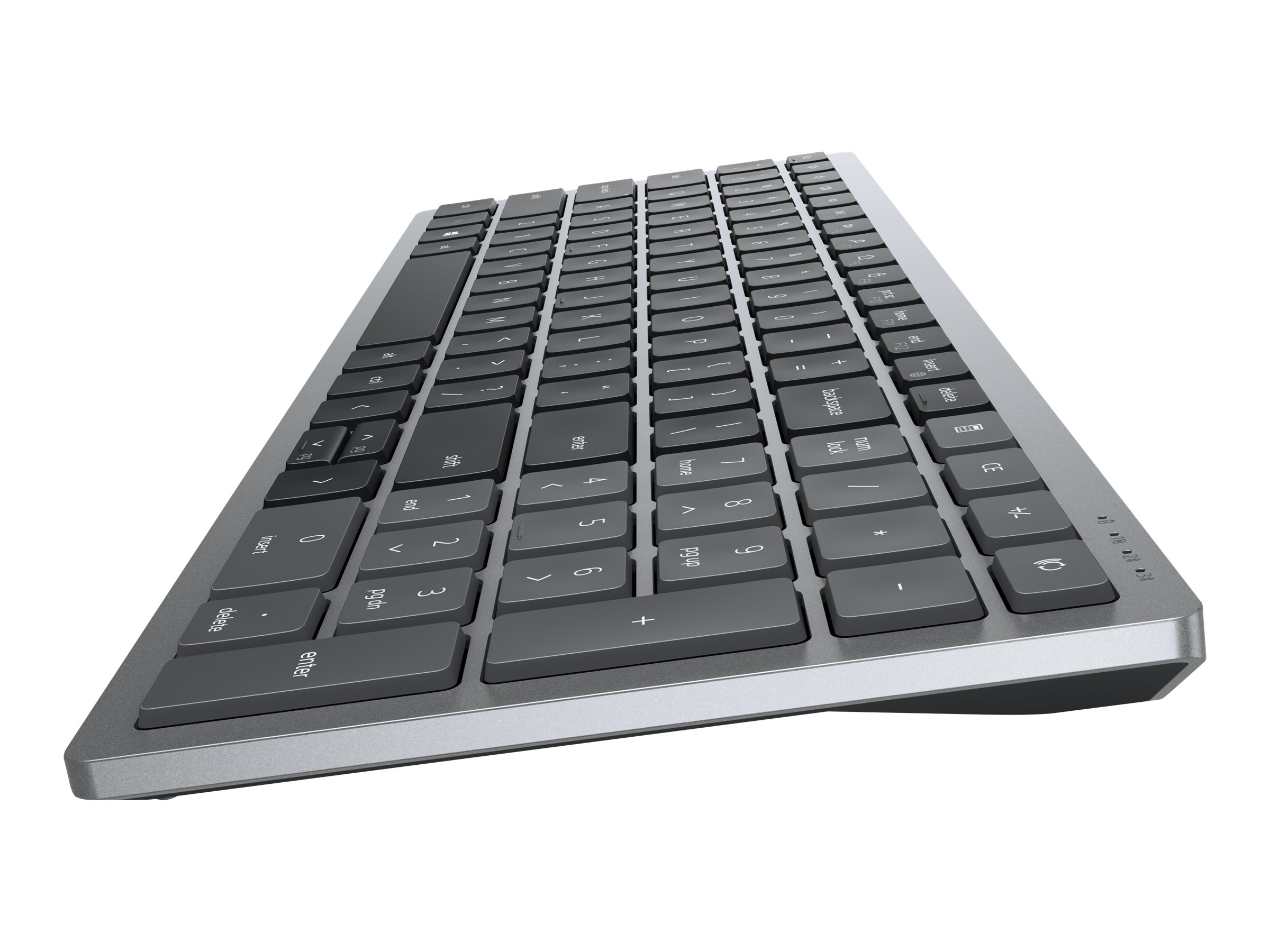 Dell Multi-Device Wireless Keyboard and Mouse Combo KM7120W - keyboard and mouse set