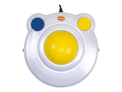 AbleNet BIGtrack 2 Trackball 2 buttons wired PS/2, USB