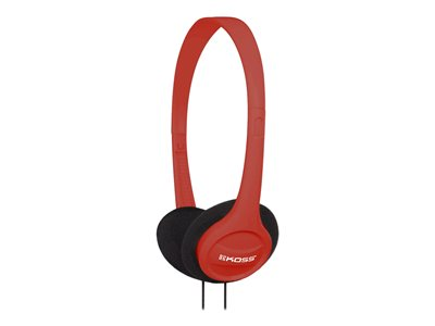 Koss KPH7 Colors Headphones on-ear wired 3.5 mm jack red