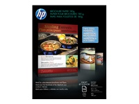 HP - Glossy - Letter A Size (8.5 in x 11 in) - 180 g/m² - 48 lbs - 150 sheet(s) brochure paper - for Deskjet 15XX; Envy Photo 62XX; Photosmart B110; Smart Tank Wireless 51X