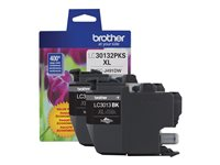 Brother LC-30132PKS 2-pack High Yield black original ink cartridge