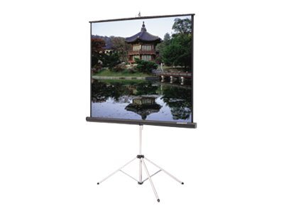 Da-Lite Picture King with Keystone Eliminator HDTV Format Projection screen with tripod